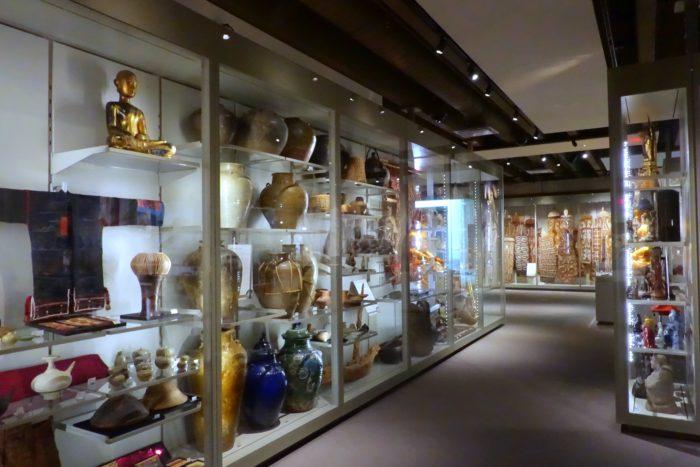 Multiversity Galleries, display cases