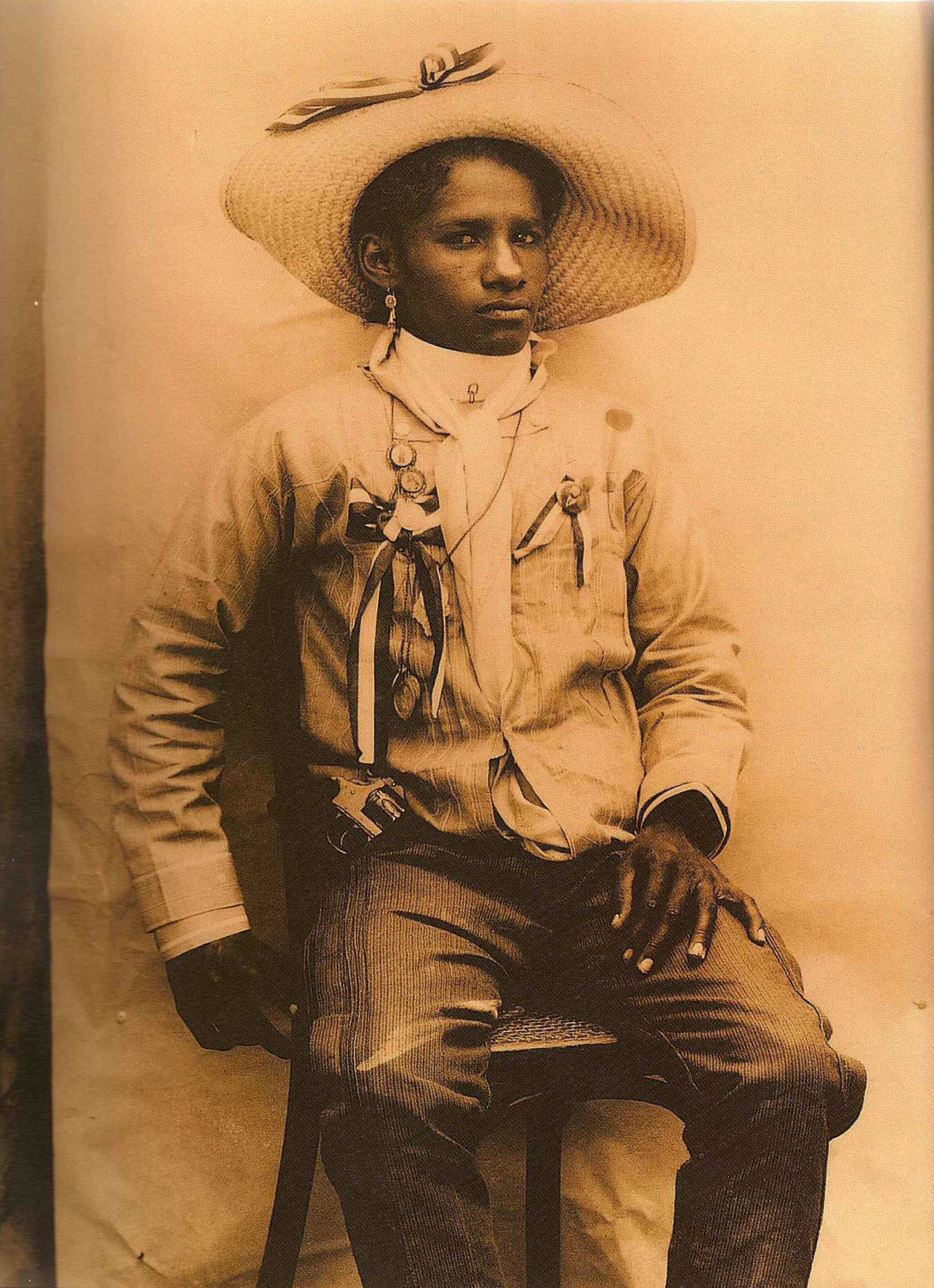 Portrait of a Female Soldier from Michoacán